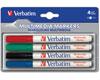 Verbatim Marqueurs multimédia, 4 couleurs différentes