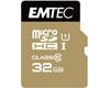 MicroSDHC 32Go EMTEC +Adapter CL10 Gold+ UHS-I 85MB/s - Sous blister