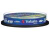 Verbatim CD-RW 8-12x, 10 pièces en cake box