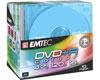 DVD+R Couleur 16x, 10 pièces slimcase