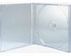X-Layer Boitier Crystal fond transparent Haute Qualité, 100 pièces