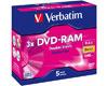 Verbatim DVD-RAM 9.4Go (double face) 3x, Type 4, 5 pièces en cartouche