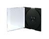 SlimCase Mini CD-R black highgrade, 100 pièces