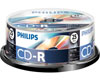 Philips CD-R 52x, 25 pièces en cake box