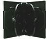 X-Layer Boitier DVD pour 6 CD/DVD noir Haute Qualité, une pièce