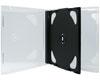 X-Layer Boitier Crystal pour 2 CDs fond noir, 100 pièces