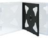X-Layer Boitier Crystal pour 2 CDs fond noir, 10 pièces en pack
