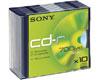 CD-R 48x, 10 pièces en slimcase
