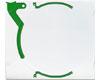 Flip'n'Grip Boitier vert, la pièce