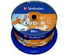 Verbatim DVD-R 4.7 GB 16x 50er Cakebox / Druck ID