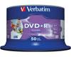 Verbatim DVD+R imprimable full-surface avec ID, 16x, 50 pièces en cakebox