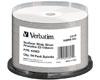 Verbatim CD-R 52x imprimable silver, 50 pièces en cakebox