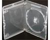 Boitier pour BD-R Amaray Transparent avec clip, 1 pièce