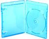 Omega Case für 1 CD / DVD Blue 11mm, 1 Stück