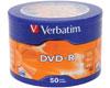 Verbatim DVd-R 16x, 50 pièces en shrink