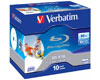 Verbatim BD-R 50 Go 6x Imprimable, 10 pièces en jewelcase