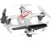 Syma Toys Quadricopt�re SYMA X11 2.4G 4 canaux avec Gyro (Blanc)