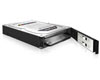 "Icy Box We-Ra. IcyBox 2x6.3cmSATA/SSD in 1x3,5"" IB-RD2121Sts (b/si)"