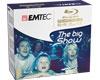 EMTEC BD-RE 25 Go 1-2x, réinscriptible, 5 pièces en Jewel Case