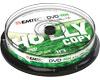 DVD-RW 4,7 Go 1-4x, 10 pièces en cakebox