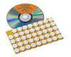 CD-Fixierungspunkte weiss 15 mm Filz 90 St.