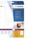 CD-Etik. Maxi A4 weiss 116 mm Papier glänz, 50 St (25 x 2)