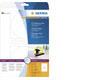 Herma CD-Etik. Maxi A4 weiss 116 mm Papier opak 50 St.