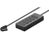 goobay 5 way scart splitter with 0.4 m connection cable