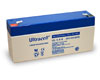 Ultracell Lead acid battery (Ultracell) 6 V 3,4 Ah (Faston 187 - 4,8mm)