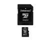 MicroSDXC 64Go Intenso +Adaptateur CL10 - Sous blister