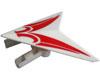 Syma Toys Accessoire SYMA S032G - Stabilisateur a�le arri�re (rouge-blanc)