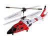 Syma Toys Helicopt�re SYMA S111G 3 canaux infrarouge avec gyroscope (Noir-Rouge-Blanc)