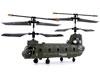 Syma Toys H�licopt�re SYMA S026G 3 canaux avec Gyro (Vert)