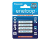 Panasonic Battery Pre-charged batteries, AAA, 1.2V, 750 mAh, Panasonic-Eneloop, blister pa