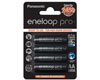 Panasonic Battery Pre-charged batteries, AA, 1.2V, 2450 mAh, Panasonic-Eneloop, blister pa