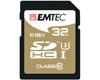 EMTEC SDHC 32Go SpeedIn CL10 95MB/s FullHD 4K UltraHD - Sous blister