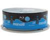 Maxell BD-R 4x 25 Go Imprimable, 25 pièces en cakebox