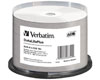 Verbatim DVD-R 4.7GB/120Min/16x Cakebox (50 Disc) InkJet Printable, White Fullsize