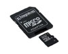 Kingston Carte microSD Digital card (SDHC) + adapter 16 GB SDC10/16GB Class 10