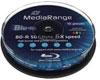 MediaRange BD-R 50GB 6x imprimable 10 pièces en cakebox
