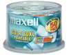 Maxell CD-R imprimable 52x, 50 pièces en cake box
