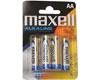 Maxell Pile AA LR6, 4 pièces + 2 gratuites