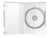 Boîtier DVD (14mm, transparent) pour un CD/DVD, 1 pièce