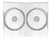 Boîtier DVD (14mm, transparent) pour 2 CD/DVD, 1 pièce