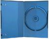Boîtier DVD (14mm, bleu) pour un CD/DVD, 1 pièce