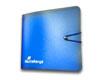 Mini-classeur plastique pour 12 CDs ou DVDs, bleu