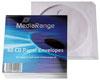 MediaRange Enveloppes à fenêtre pour CD/DVD, 50 pièces