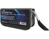 Portefeuille en Nylon pour 10 clés USB + 5 cartes SD, Noir