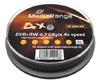 MediaRange DVD+RW 4x certifié, 10 pièces en cakebox