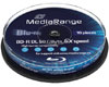 MediaRange BD-R DL Blu-ray 50 Go 6x, 10 pièces en cake box